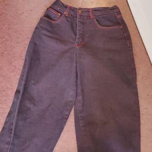 Cool 70's vintage jeans, punk, rockabilly